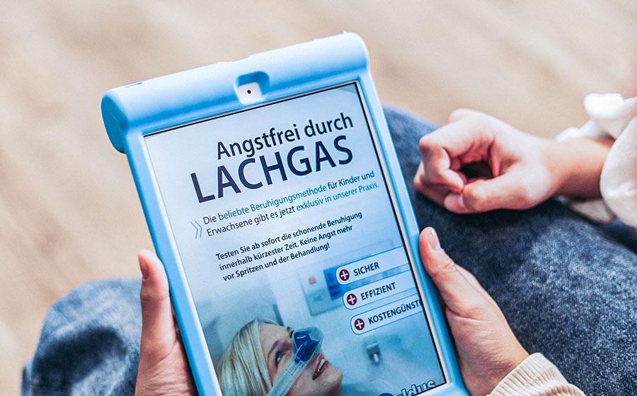Angstfrei durch Lachgas - beliebte Beruhigungsmethode für Kinder und Erwachsene exklusiv in unserer Praxis