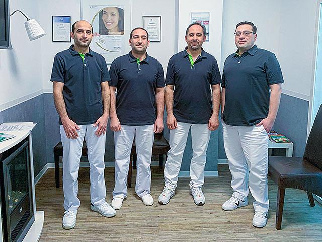 Team der Zahnärzte in der Praxis Waseem Ashlak in Erfurt
